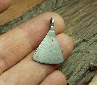 "Ancient Silver Viking Suspension-Amulet ""Axe""   #2324"