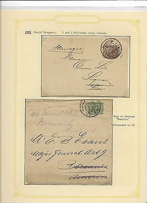 Egypt postal stationery mint and used (#30980a)