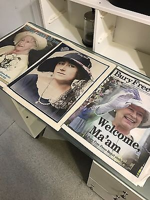 Job Lot of Royal Newspapers - Queen Mother is 100 Years Old!