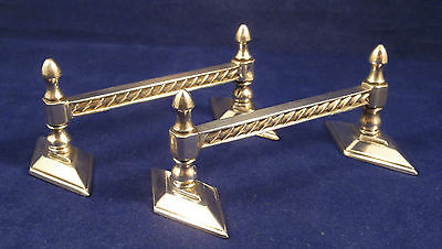 Pair of Victorian Silver Plated Knife Rests 1872