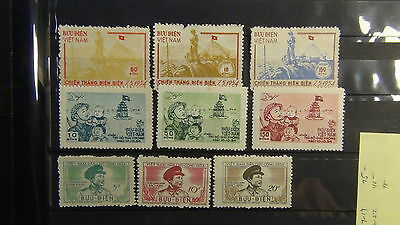 Vietnam N stamp collection in lighthouse padded stock book w/ Imperfs / highs