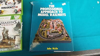 The Professional Approach to Model Railways BOOK by John Wylie