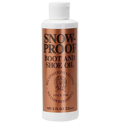 Snow-Proof Boot And Shoe Oil N/A