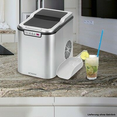 Cocktail top Ice cube machine LED-display Household Compact Kitchen Party new