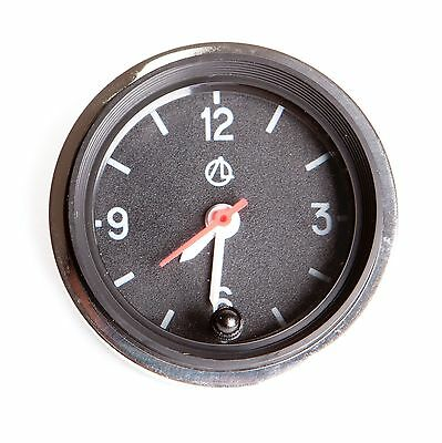 Luch Quartz Car Dashboard Clock Round. Retro, Restoration, old/new school. 12V