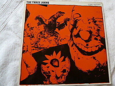 """The Three Johns - Some History - 12"""" Vinyl - Punk/indie"""