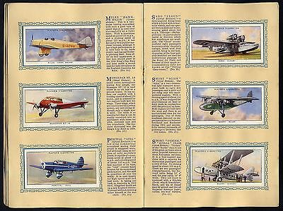 "1935   Players   ""aeroplanes   (Civil)""   Complete   Set   (50)   In   Album."