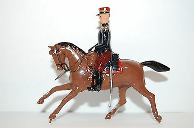 Vintage Britains Lead Mounted French Foreign Legion Officer