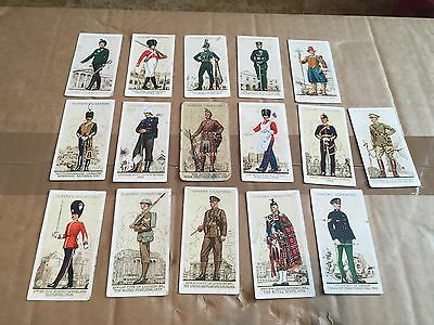 Part Set - Uniforms Of The Territorial Army- Cigarette Cards- John Player & Sons