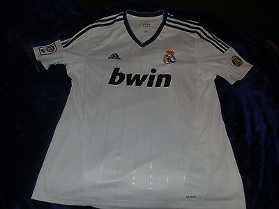 Real Madrid 110 year anniversary football soccer shirt jersey top ADULT XL