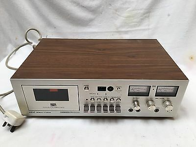 Retro Collectable AKAI GXC 710 D Tape Deck Amplified Seperate System