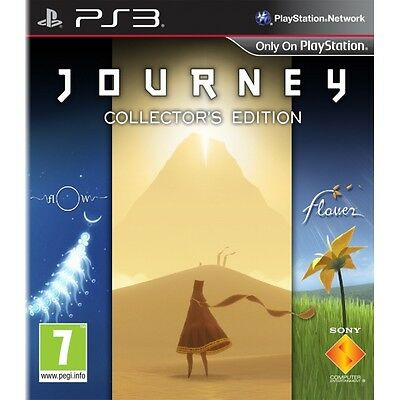 Journey Collectors Edition Game PS3 Brand New