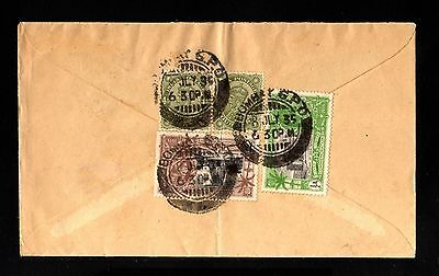 14072-INDIA-AIRMAIL COVER BOMBAY to FLEURIER (switzerland).1935.WWII.BRITISH