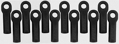 Traxxas 1/10th Scale Black Long Rod Ends by RPM 80512
