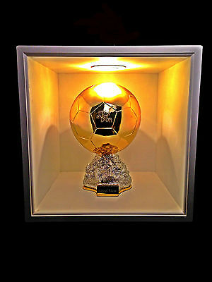 Ballon D'or European Footballer Of The Year Trophy Personalised 1.1 Scale