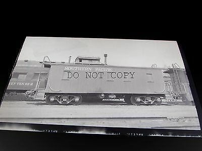 SP Southern Pacific Caboose #884 at Alturas, Calif. 5/29/1955 Negative  R138