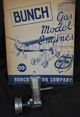 1938 Pre-War Bunch Speedway Racing Ignition Engine Tether Race Car