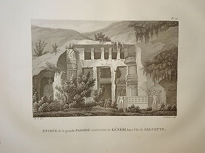 William DANIELL ENGRAVING KENGERI SALCETE  KARNATAKA INDIA HINDOUSTAN 1820 b