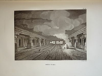 William DANIELL ENGRAVING CAVES DHER WARA TAMIL NABU INDIA HINDOUSTAN 1820 a