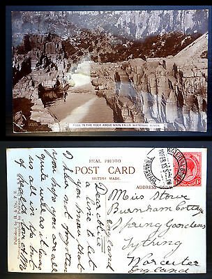 SOUTH AFRICA 1915 Waterval Boven Rockpool to England WX876