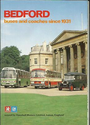 Vauxhall Bedford Bus And Coach 'sales Brochure' Booklet 1979