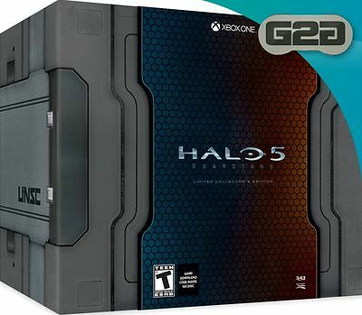 Halo 5 Guardians Limited Collectors Edition Xbox One New Sealed Official
