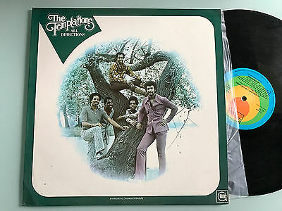 LP  ITALY 1972 NM  The Temptations – All Directions Label: Tamla Motown – TS