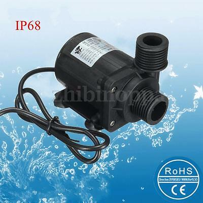 DC12V 800L/H Ultra-quiet Water Circulation Pump Solar Water Pump Brushless Motor