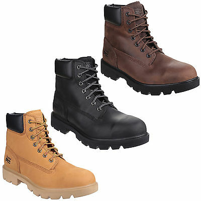 Timberland Pro Sawhorse Safety Water Resistant Mens Steel Toe Cap Boots UK7-14