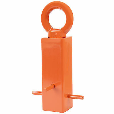 Hardcastle Orange Permanent Cement In Hoop Security Chain Ground Anchor Concrete