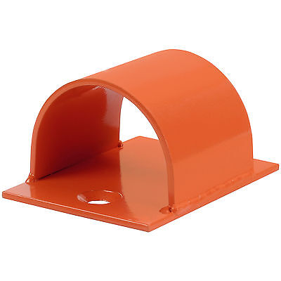 Hardcastle Orange Bolt Down Ground/wall Anchor In/out Door Security Bike Lock