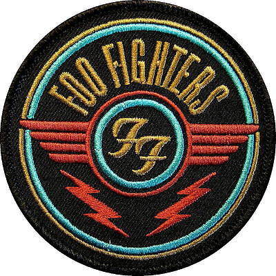 Foo Fighters Aufbügler / Embroidery Patch / Aufnäher # 3