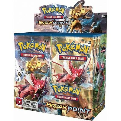 Pokemon TCG XY9 BREAKPoint Boosters Box (36 Packs) Brand New