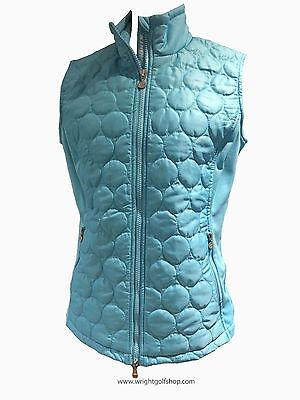 **NEW** DAILY SPORTS 'BERTHA' GILET  size LARGE  colour BALTIC BLUE