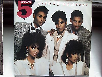 Five Star, Strong As Steel / The Man. Original 1987 Tent Single