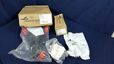 Cooper Deadbreak Connector Kit DT625 25KV 600 AMP New in Box w Instructions 2011
