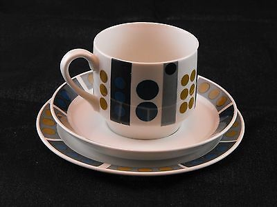 Collection Jessie Tait Coffee/TeaCup Trio MidWinter Tempo Fine Tableware
