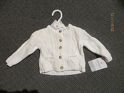 Carter's Little Collection Baby Girl Cardigan 3 mos. NWT