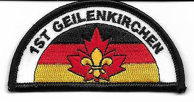 1St Geilenkirchen Canadians In Germany Scout Badge