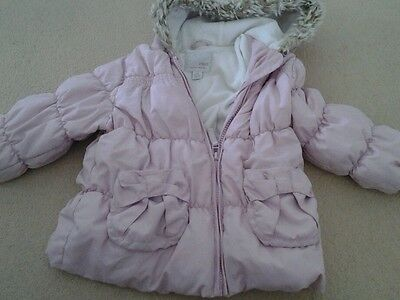 Girls Clean Pink Jacket From Next Age 2-3