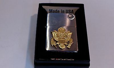 Zippo Lighter New with Tags 2010 air force symbols and insignia with box
