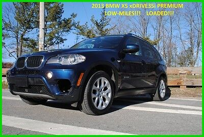 2013 BMW X5 xDrive35i  X35 3.0 Turbo Navigation Comfort Seats Repairable Rebuildable Salvage Wrecked Runs Drives EZ Project Needs Fix Low Mile