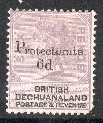 Bechuanaland: 1888 QVI Protectorate 6d on 6d ovpt SG 45 mint