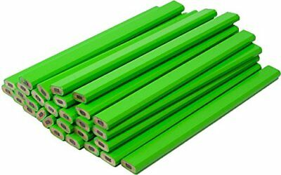 Neon Green Carpenter Pencils - 72 Count Bulk Box New