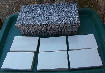 ~ Vintage Index Card File Box ~ Marbleized Chipboard + 5 packs of 3 x 5 Cards ~