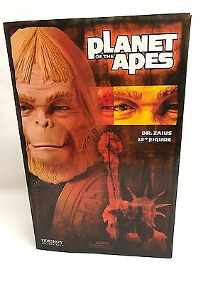 """Sideshow Toys Planet of the Apes 12"""" Figure Dr. Zaius New in the Box 2004"""