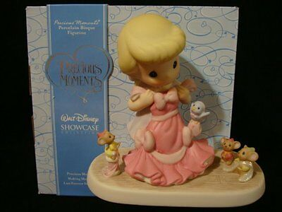 yh Precious Moments-Disney Cinderella w/Gown-Anything Is Possible With Friends