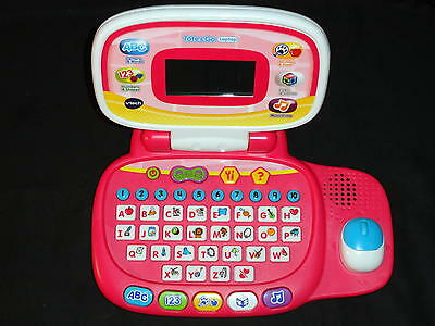 Vtech Tote & Go Laptop (Pink) - Great Teaching / Learning Toy