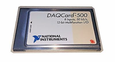 National Instruments DAQCard-500 Multifunction I/O Card for Type II PCMCIA Bus