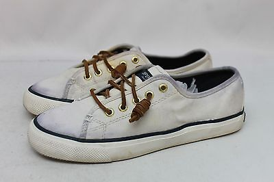 Sperry Top-Sider Women's Seacoast Casual Shoes in White Size 6M